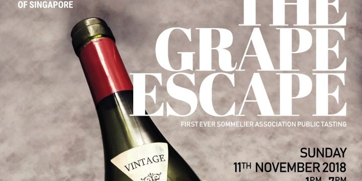 Drink Wine, Hang With Sommeliers, And Do Your Part For Charity At The Grape Escape 2018