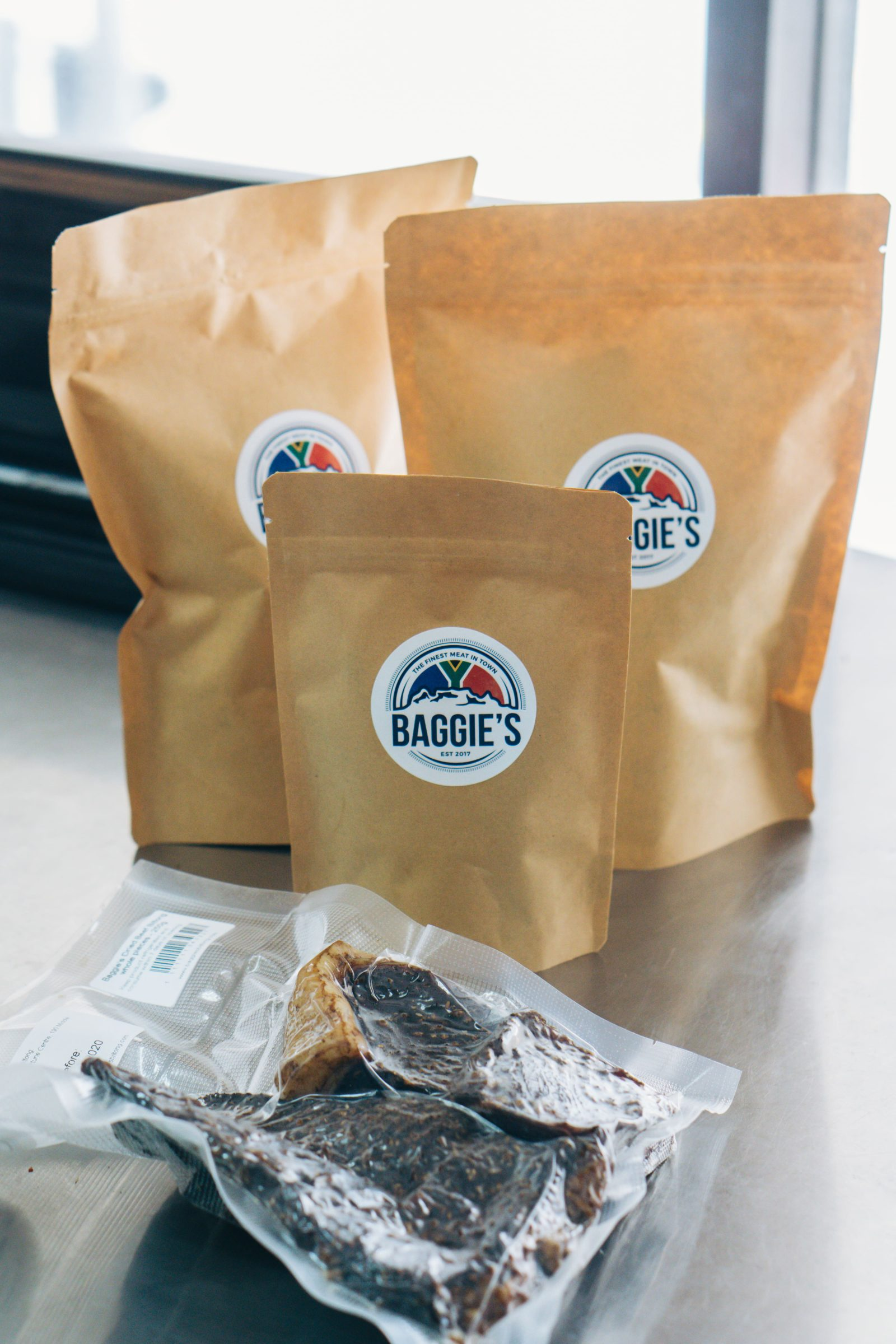 Baggie's biltong, a clean, lean source of protein