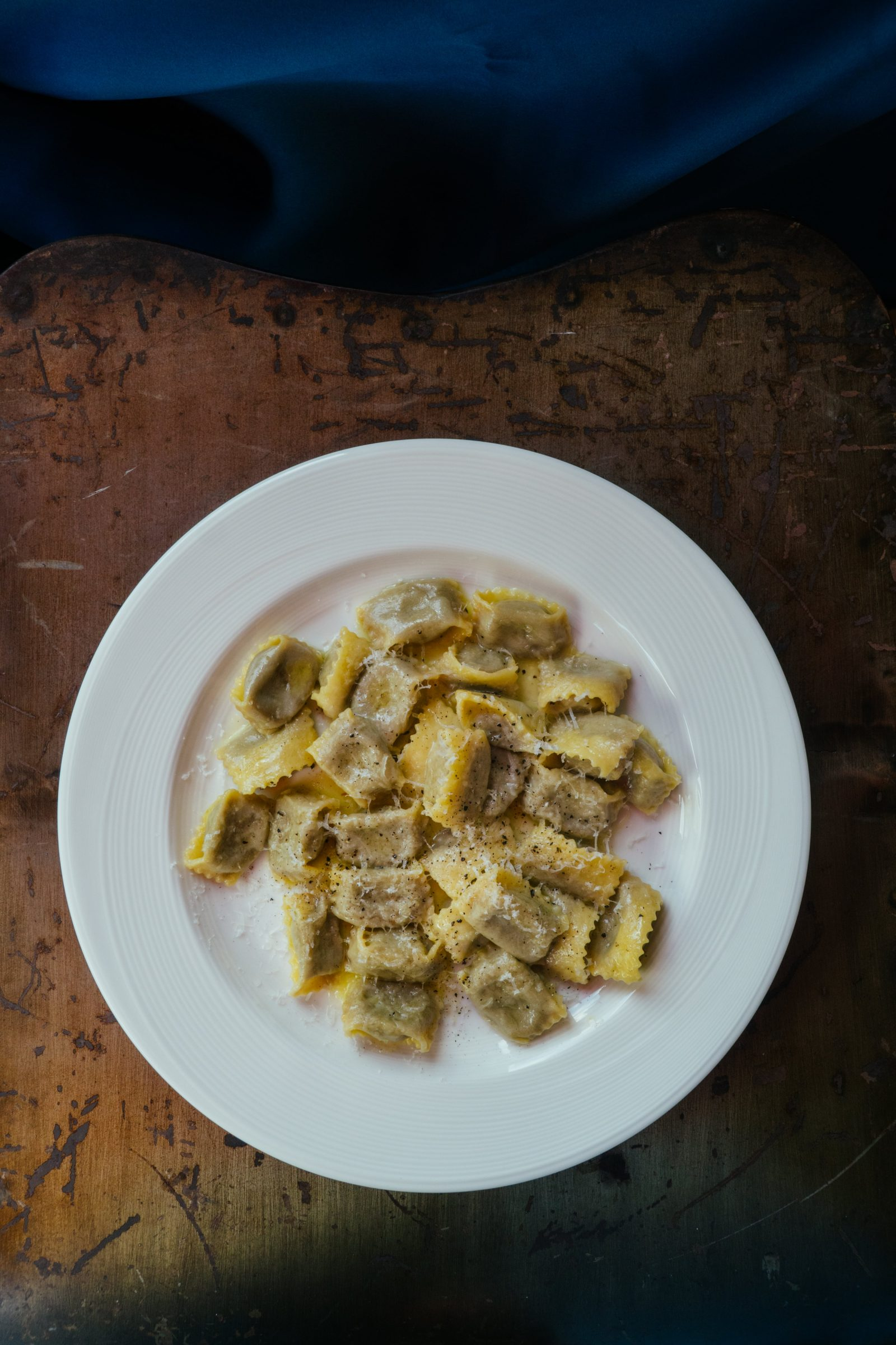 Agnolotti with beef cheek