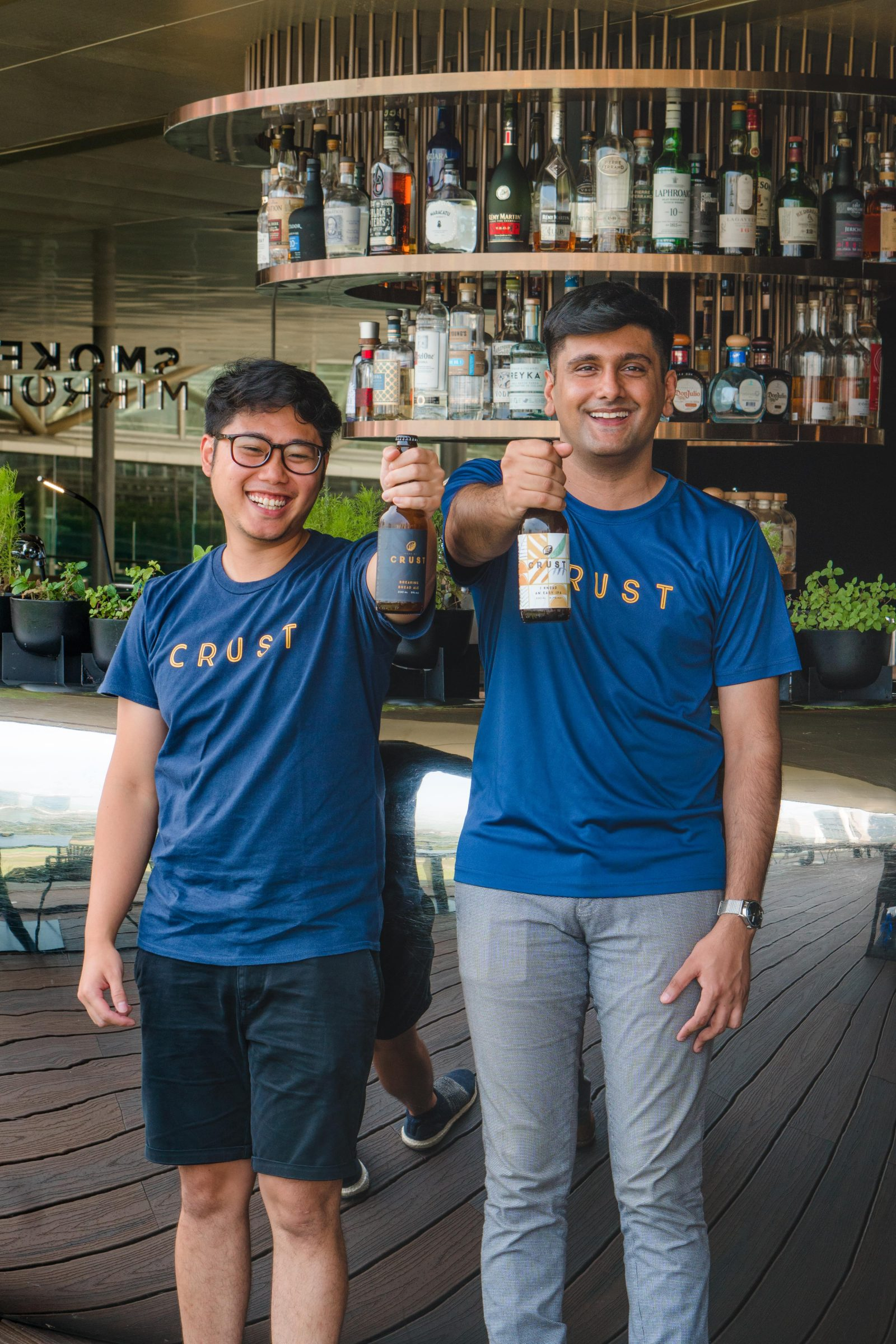 Crust CEO Ben Phua and Founder Travin Singh