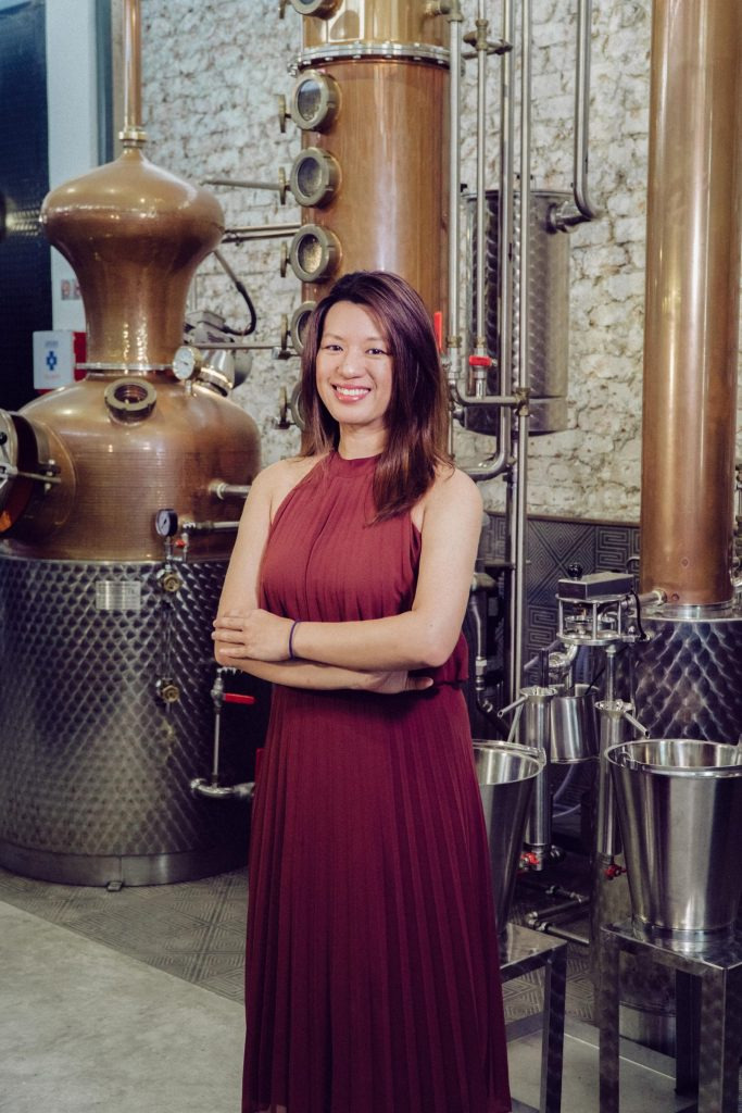 Jamie Koh, founder of Brass Lion Distillery