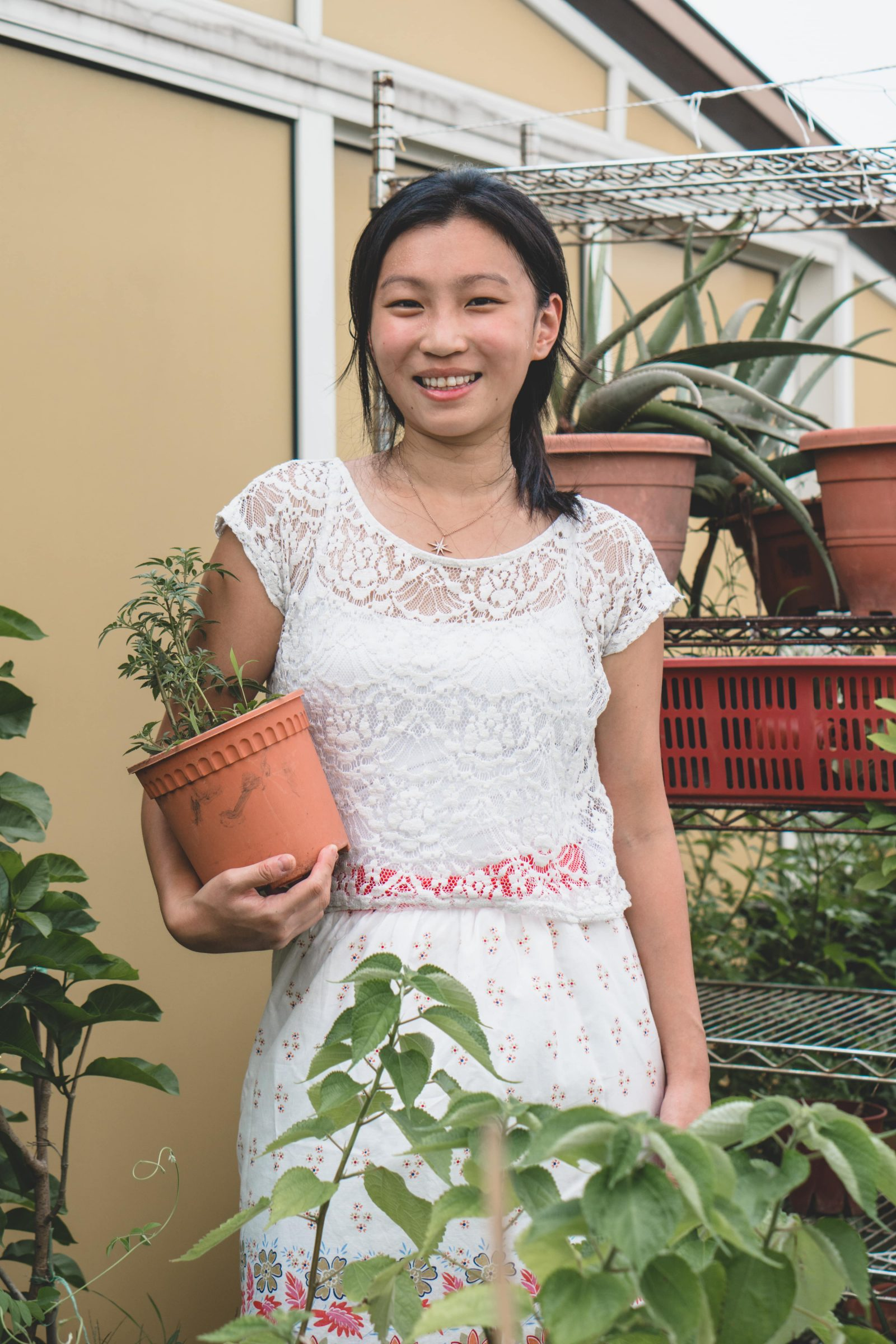 The home gardener behind WWEdibles, Joanna Chuah