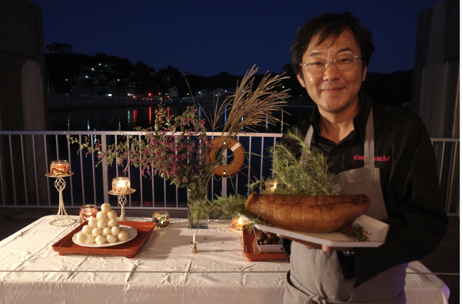 Chef Keisuke Matsumoto, former executive chef of Lewin Terrace in Singapore