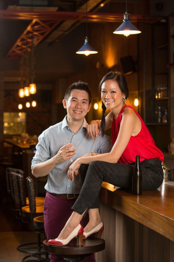 Indra Kantano and Guoyi Gan, co-founders of the Jigger & Pony Group, whose eponymous concept recently clinched the top spot on Asia's 50 Best Bars 2020