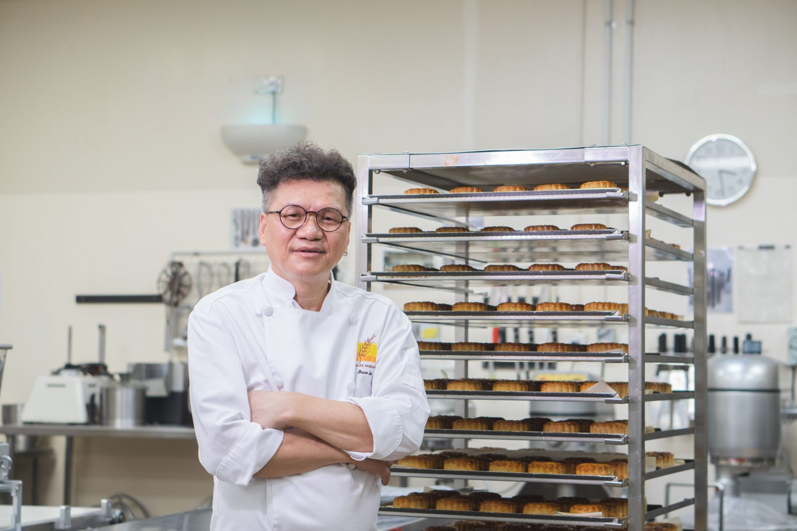 Veteran pastry maker Bruce Lei has been making mooncakes for over 40 years